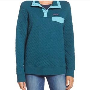Patagonia New Quilted Pull Over